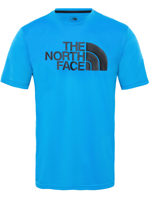 The North Face Train N Logo Flex Hardloopshirt korte mouwen Heren blauw/zwart